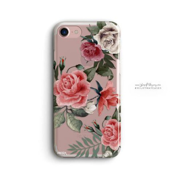 Milkyway Cases CLEAR TPU CASE COVER - PETALS