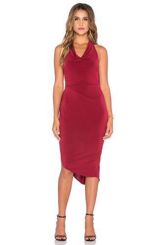 dress mini dress mini black red