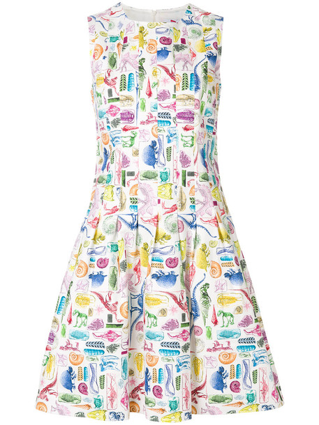 Ultràchic dress flare dress flare women fit cotton