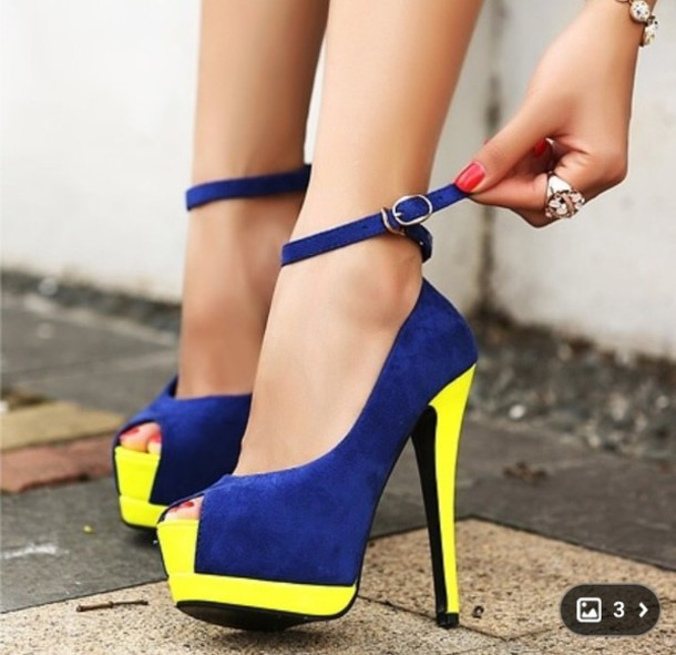Cute Neon Yellow Heels - Shop for Cute Neon Yellow Heels on Wheretoget