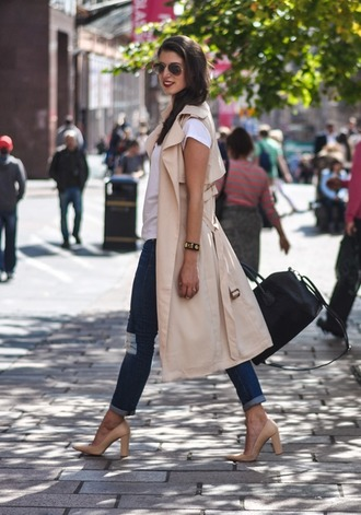 thank fifi blogger t-shirt shoes jewels bag