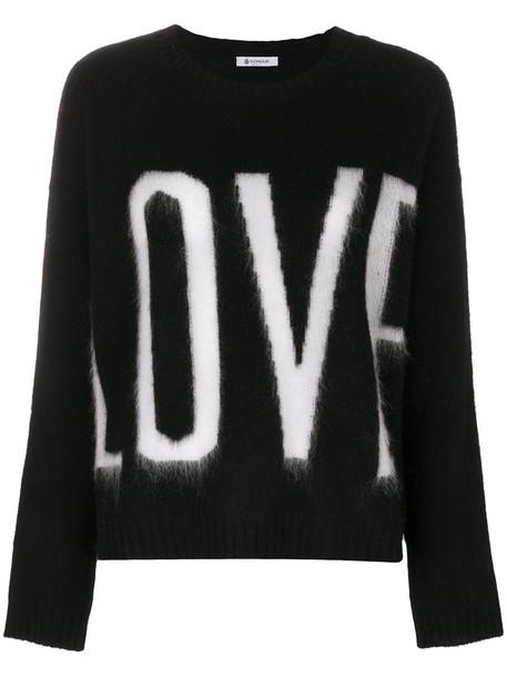 DONDUP jumper women love mohair black sweater