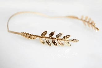hair accessory hairband gold rose gold