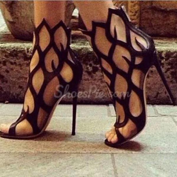 shoes black heels high heels sandals sneakers summer