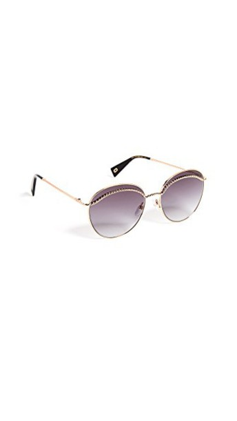 Marc Jacobs sunglasses dark gold grey copper