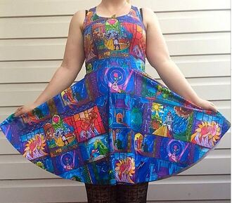 dress blackmilkclothing 3d flower sleeveless sundress fashion 3d printed colorful disney two way floral dress cut mini vest top frozen cartoon printed