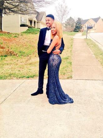 dress blue prom dress sequin prom dress prom dress lace dress
