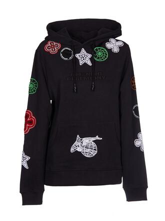 hoodie crochet sweater