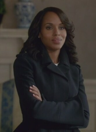 coat navy peplum jacket olivia pope kerry washington scandal wool military style
