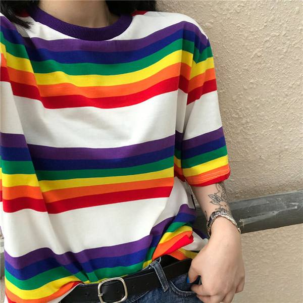 90s Kids Rainbow Tee