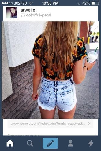 shirt sunflower cool shirts