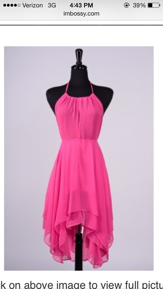 dress pink dress sundress rasheeda imbossy