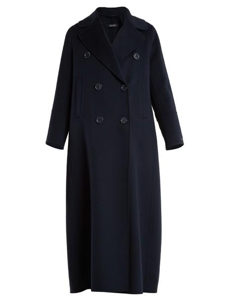 S MAX MARA coat navy