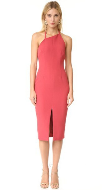 Keepsake The Wire Dress - Red Ochre