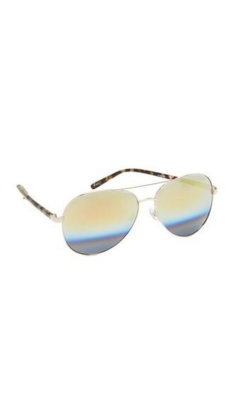 rainbow beach sunglasses aviator sunglasses gold