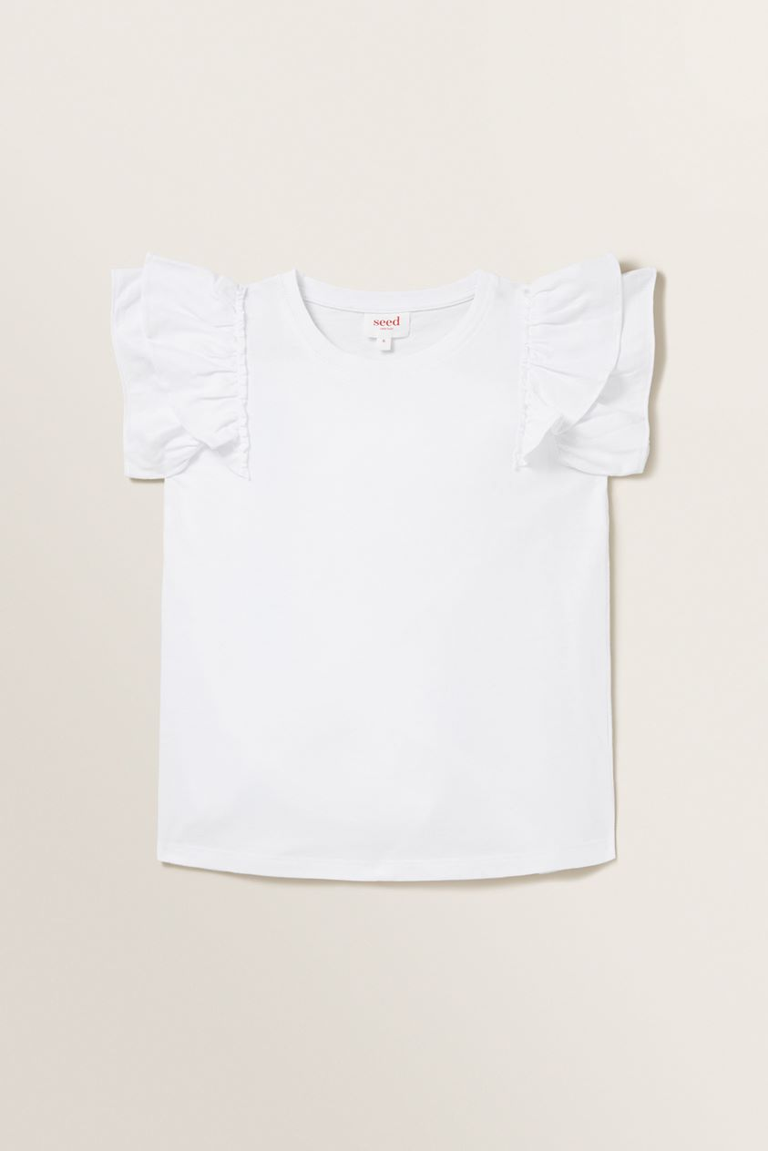 Relaxed Frill Tee