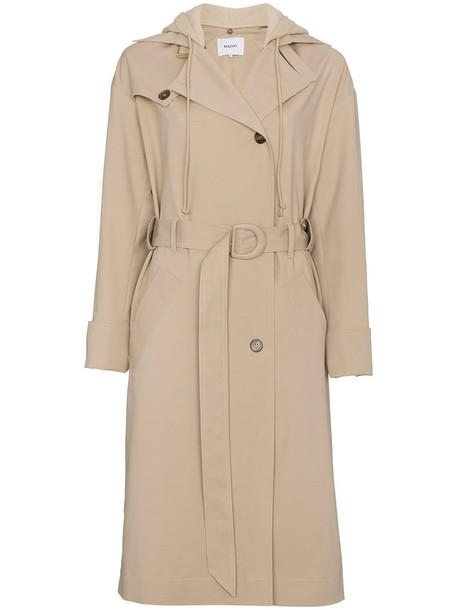 Nanushka coat trench coat women spandex nude cotton
