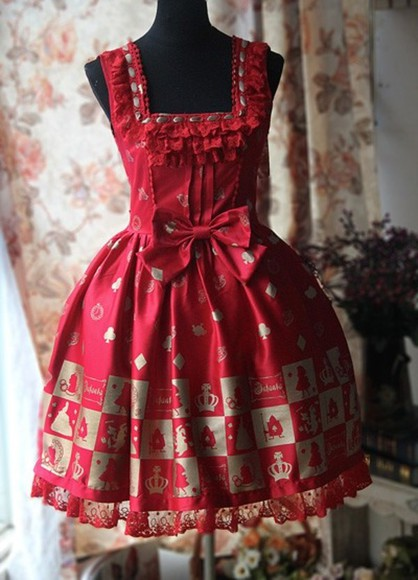 alice dress bows lolita infanta chess jsk lolita dress lolita fashion lolita dresses sweet lolita jumper dress lovely dress