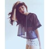 top,mesh top,casual,cool,grunge,t-shirt,swimwear