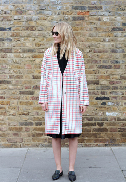 blame it on fashion blogger coat shoes skirt sweater sunglasses