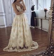 dress,gold,prom,prom dress,gold dress