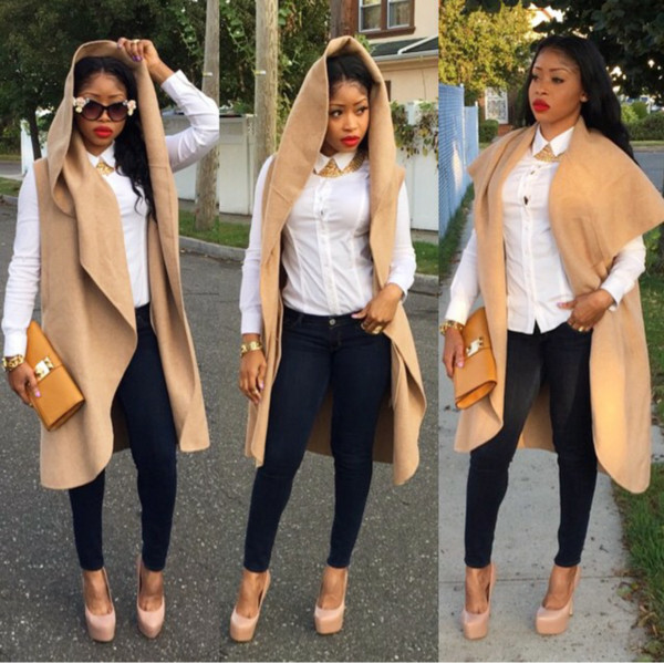 cardigan beige heels jacket long top fall outfits overcoat femele outfit long jacket nude shoes nude pumps coat vest veste