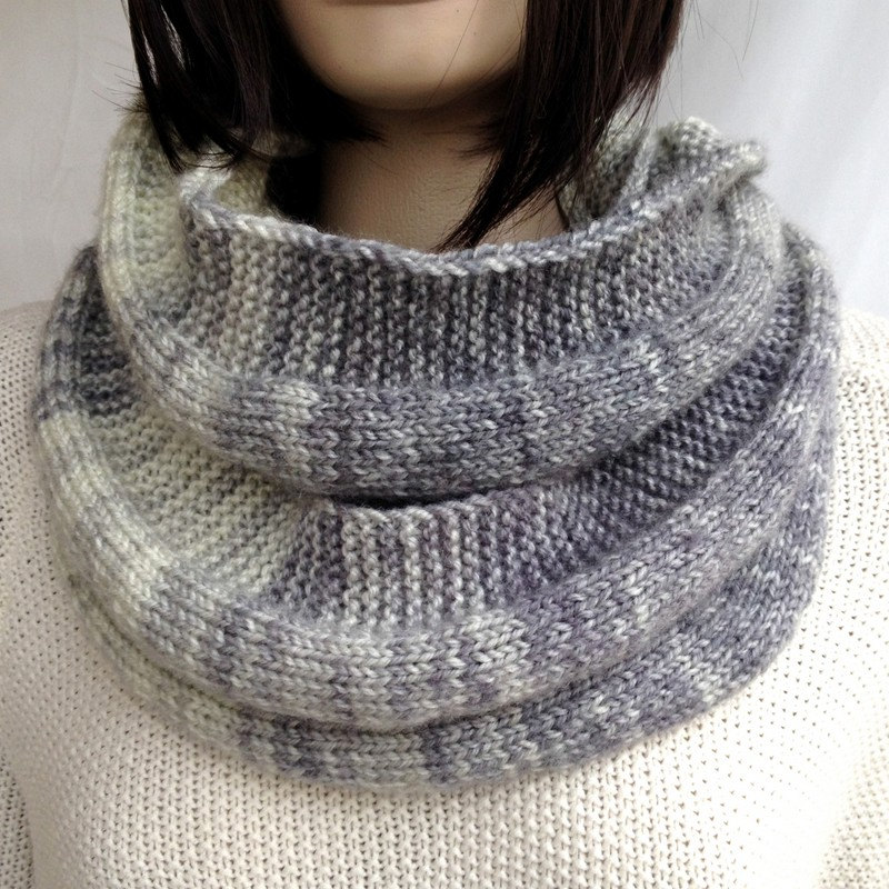 Wool Knitted Scarf Men Scarf Women infinity Scarf Winter Fashion Accessories Gift for Women for Her for Him Christmas gift senoAccessory