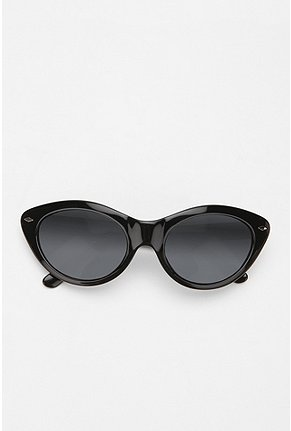Betsey johnson crazy cat eye sunglasses