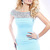 2013 Sherri Hill 2933 Light Blue Bandage Cocktail Dress - $178.00 : 2014 Prom Dresses Online Sale,Cheap Sherri Hill Dresses