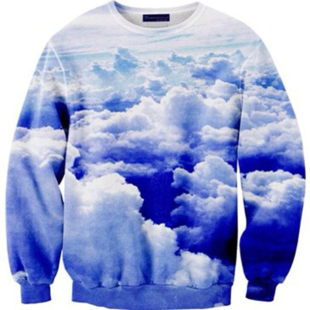 sweater clouds comfy sky