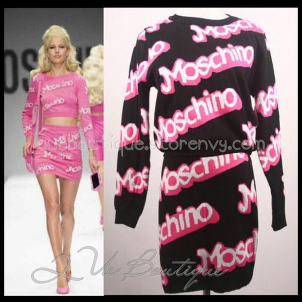 jumpsuit moschino moschino shirt moschino cheap and chic moschino barbie moschino outfit pink
