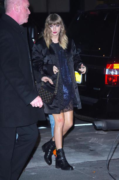 dress ankle boots taylor swift mini dress sequins sequin dress