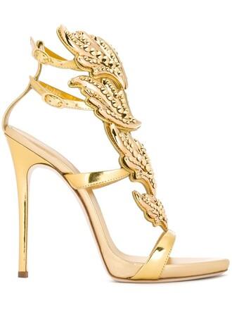 metal women sandals leather grey metallic shoes