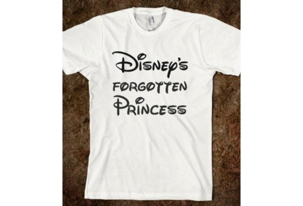 t-shirt shirt disney princess