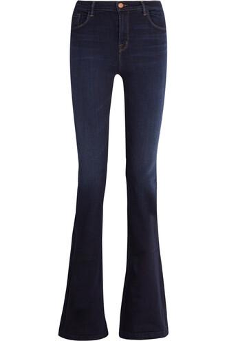 jeans high denim dark