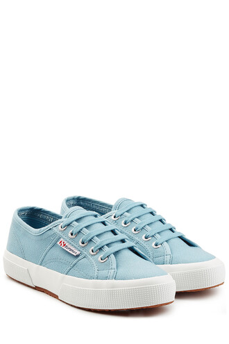 classic sneakers blue shoes