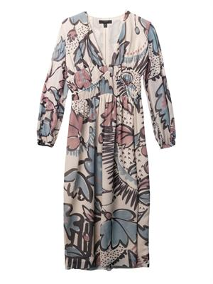 Floral-print silk-georgette dress | Burberry Prorsum | MATCHES...