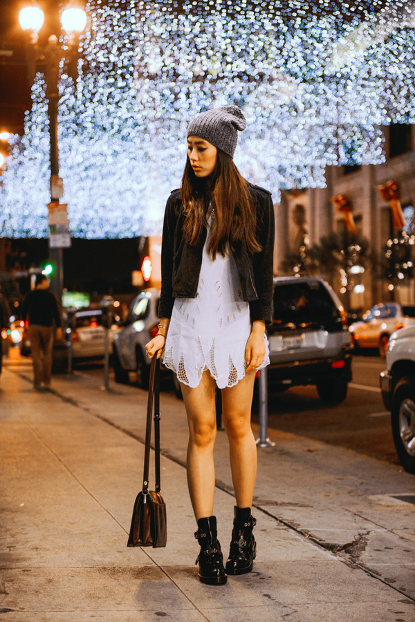 neon blush dress jacket shoes bag hat