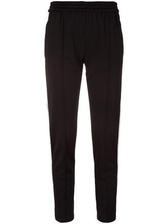 pants track pants women black