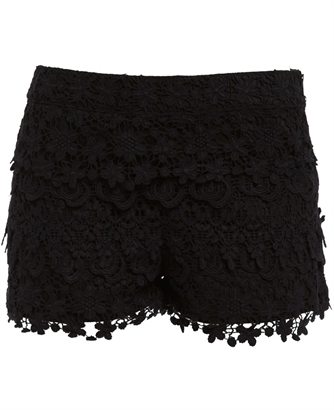 Layered Lace Short - Bardot