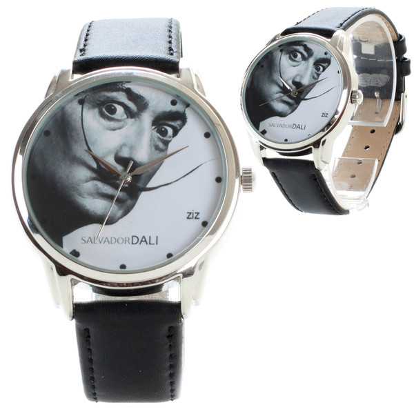 jewels dali black n white watch watch ziz watch ziziztime salvador dali