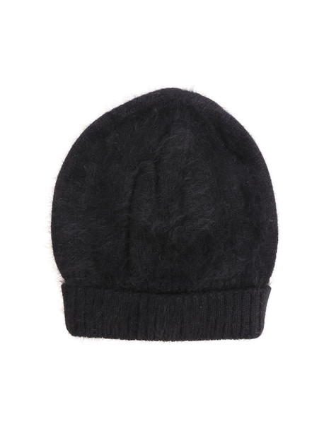 Roberto Collina Knitted Beanie in black