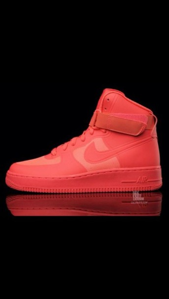 a1f62e6818e shoes nike nike air force 1 red solar red nike air max 90 hyperfuse