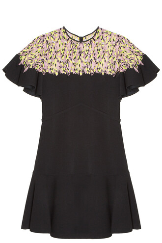 dress lace top dress lace black