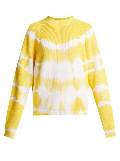 sweater cotton yellow