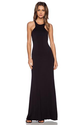 dress maxi dress maxi geometric black