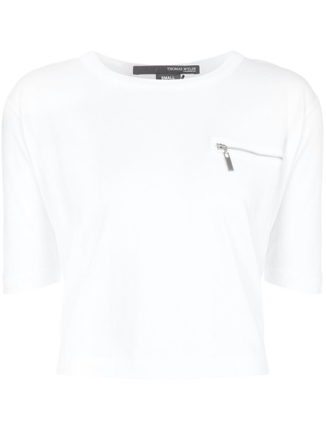 top women white cotton