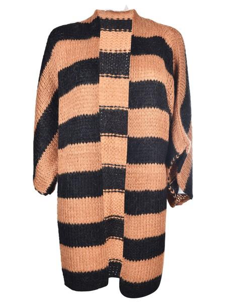 8pm cardigan cardigan knit black camel sweater