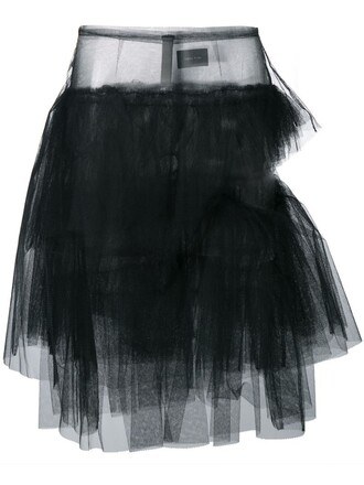 skirt tulle skirt black