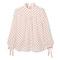 Ashley silk tie blouse